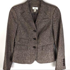 Loft Women's Wool Blend Blazer Size 2P